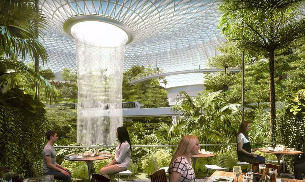 Singapore\'s jaw-dropping new airport has the world\'s largest indoor ...
