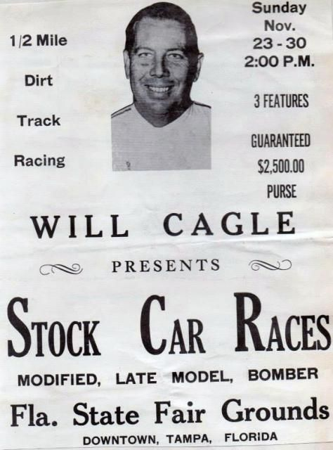 Will Cagle promoted races in the late-1970s before the track was shut down for good...