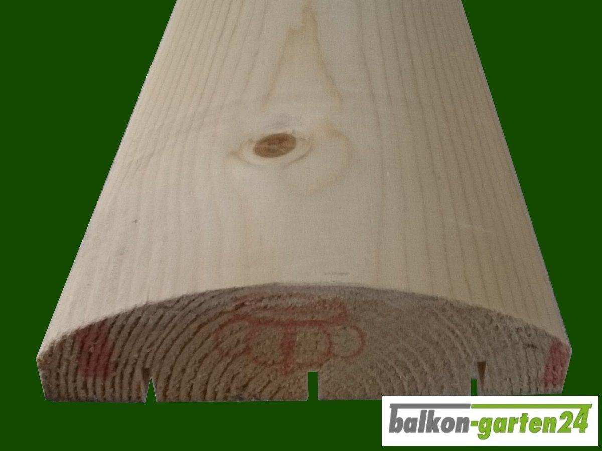 Handlauf Fichte 480 Cm Massiver Handlauf Fur Holzbalkon Aus
