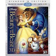 Beauty And The Beast (3D Blu-ray + Blu-ray + DVD + Digital Copy) (5-Disc) (Widescreen)