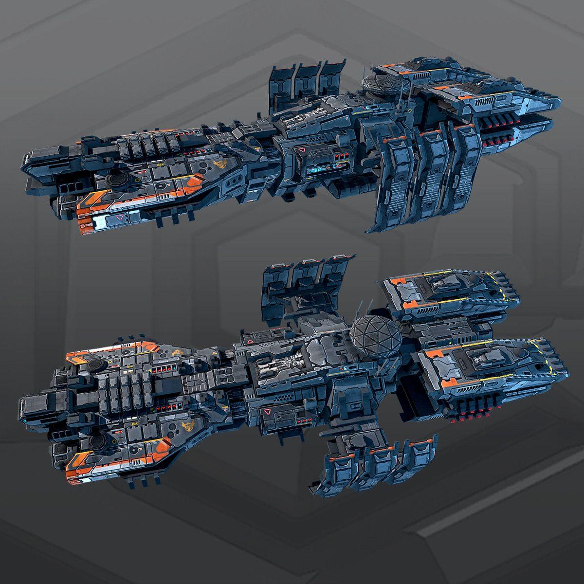 3d Spaceship Concept Ships Spaceship Design Star Wars Spaceships