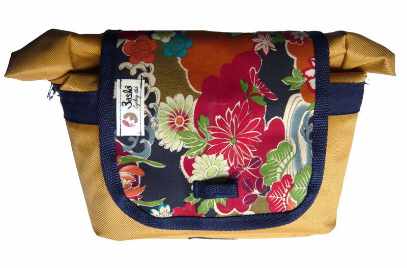 Daily Bikeable Shoulder Bag Japanese Yellow
