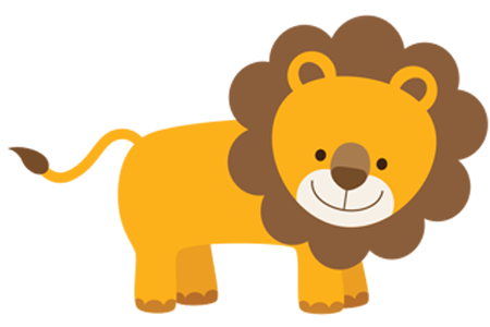 Happy Lion Lion Vector Animal Icon Cartoon Animals