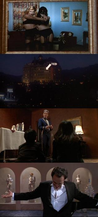Four Rooms, 1995 (dir. Allison Anders, Alexandre Rockwell, Robert Rodriguez, Quentin Tarantino)