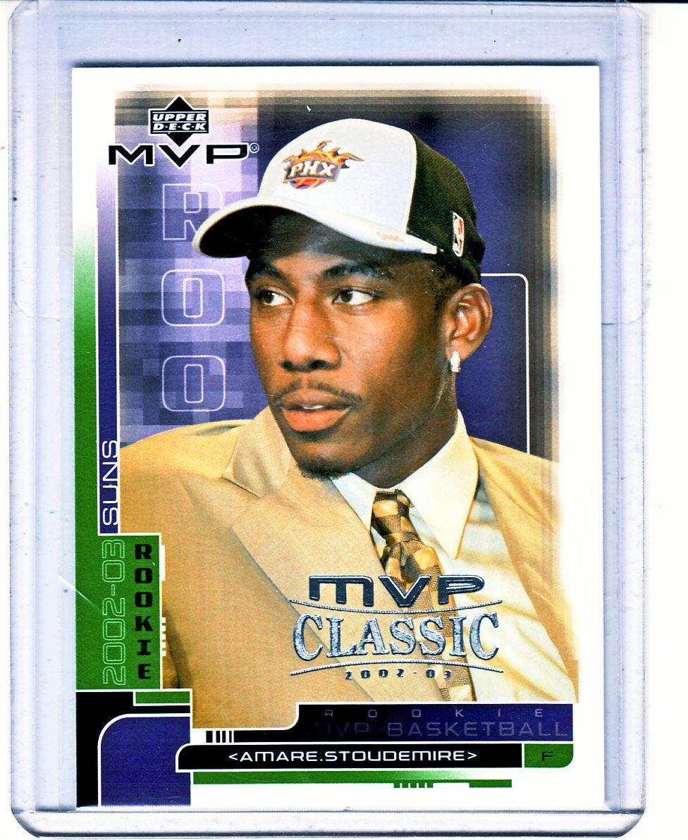 200203 Upper Deck MVP Classic Amare Stoudemire Rookie