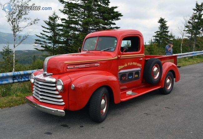 American Classic Cars on Cape Breton's Cabot Trail