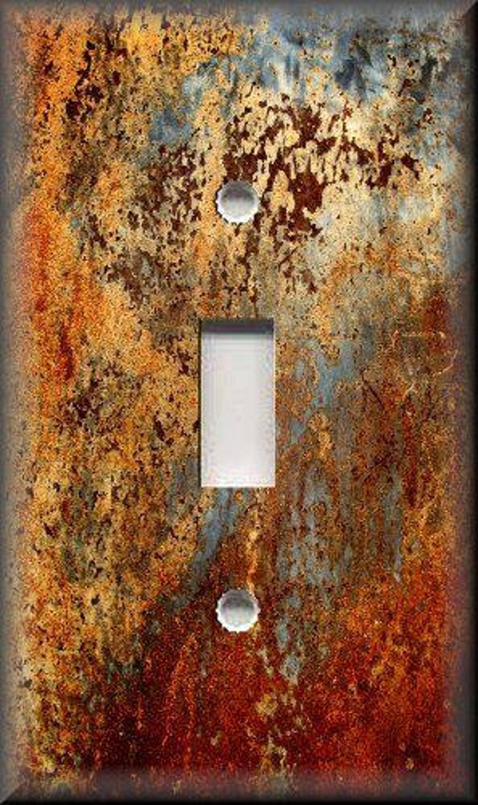 Switch Plates And Outlet Covers Free Shipping Image Of Aged Copper Patina Design Home Decor Rustic Decor Metal Light Switch Covers