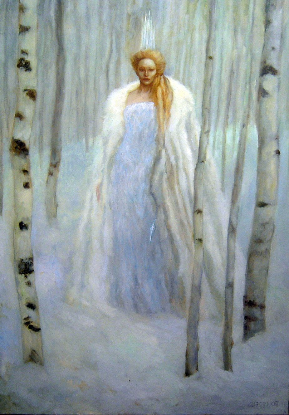 The White Witch of Narnia by Justin Sweet | Fantasy Art ...