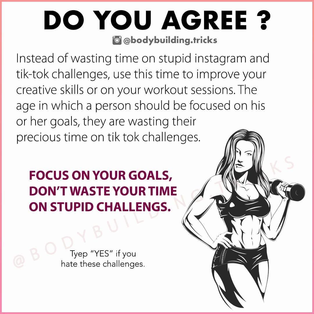"BODYBUILDING TRICKS 🇺🇸 on Instagram ""Tyep ""YES"" if you"