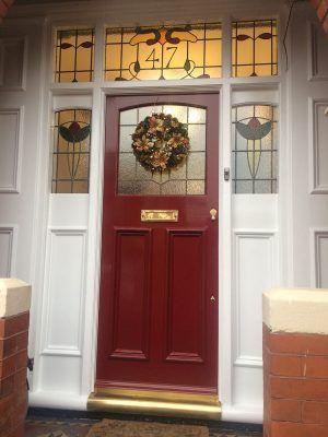 Fanlight Fonts | Front Door Restorations - The Grand Victorian Door Company #victorianfrontdoors