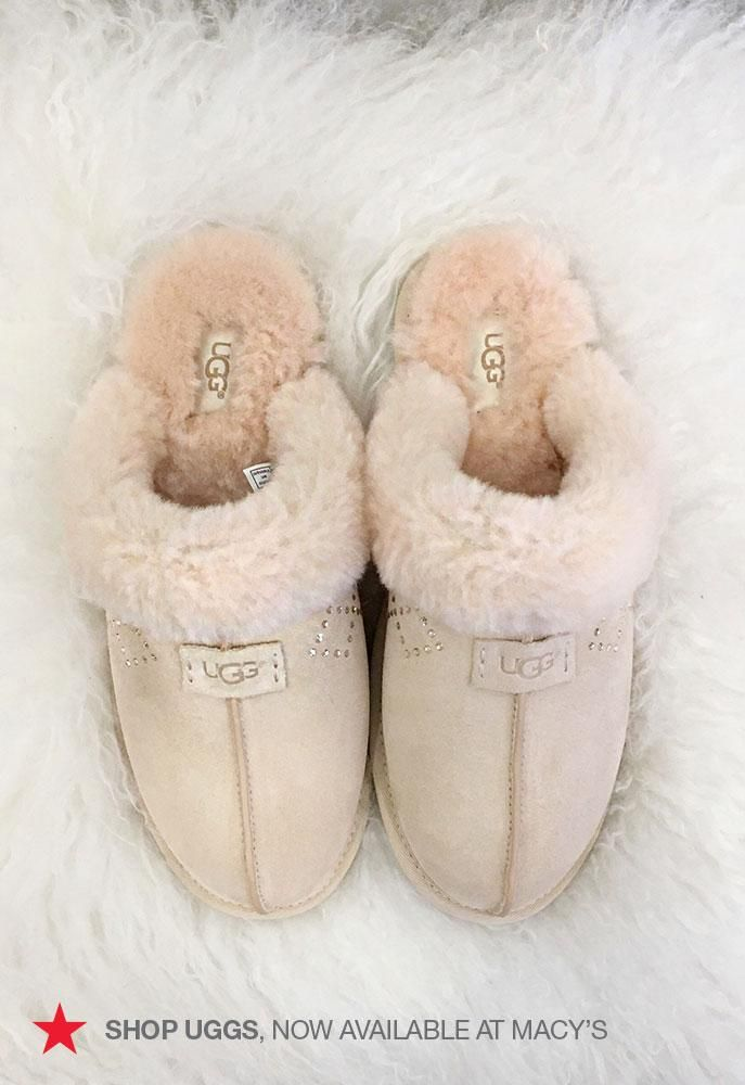 Slip your feet into these cozy UGG slippers and you won't want to take