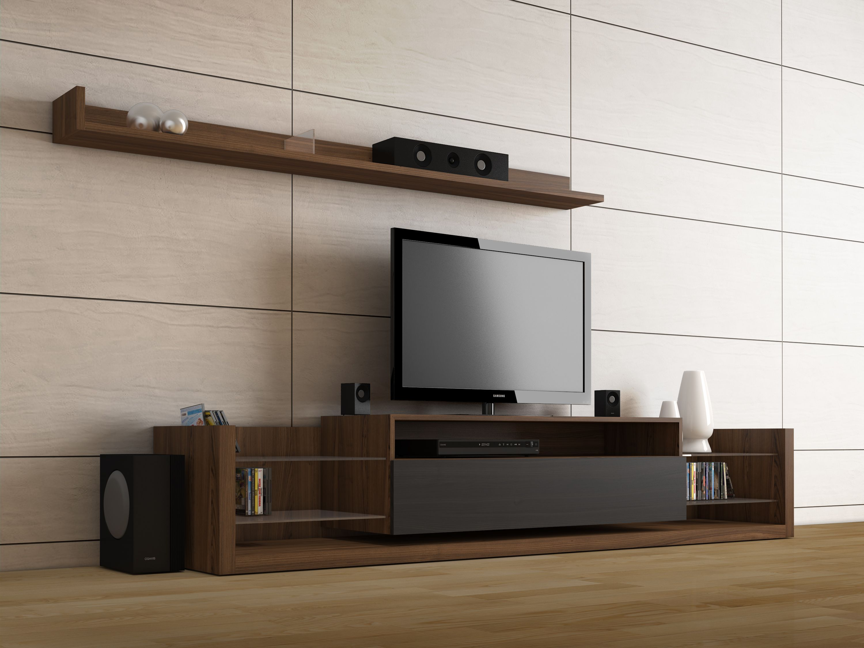 Createch Design / Home Entertainment Unit - Sophisticated and unique ...