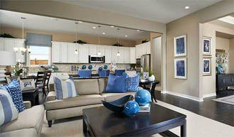 Jasmine Greatroom Blue Jasmine floor plan Richmond American Homes