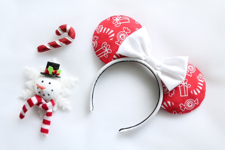 Christmas Presents Mouse Ears, Christmas Presents Minnie Mouse Ears ...