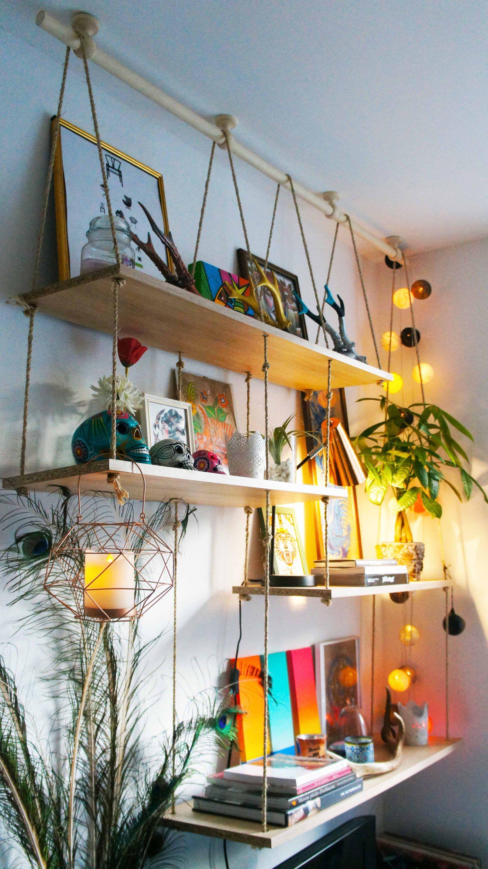 Diy tag res suspendues monrangement en 2019 pinterest decoraci n ikea muebles et - Salon decorer pour petits espaces designs de salon qui fonctionnent ...