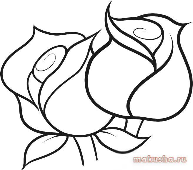 Как нарисовать цветы на открытке карандашом, твоих