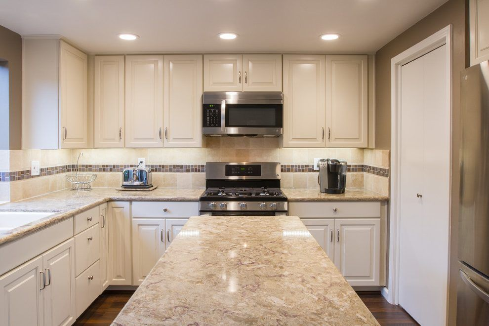 nevern cambria kitchen contemporary with waypoint cabinets ...