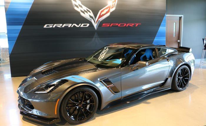 Ordenar Su Nuevo 2017 Corvette Grand Sport Edición Coleccionista De Chevrolet