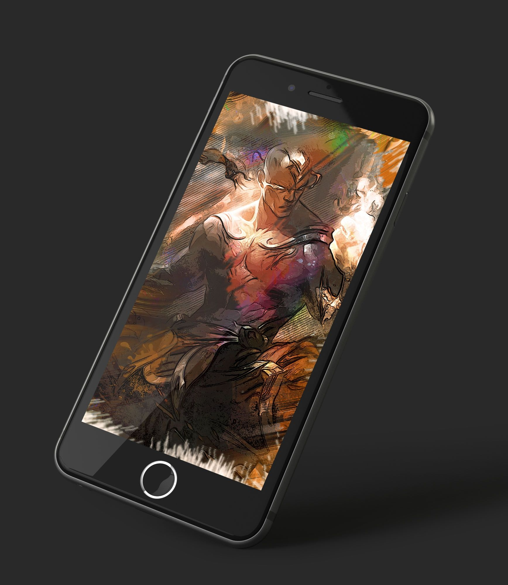 Iphone And Android Wallpapers God Fist Lee Sin Illustration