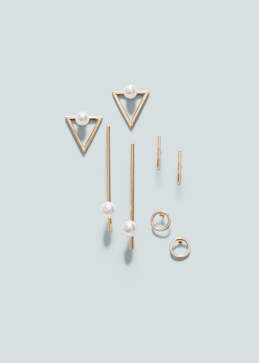 Ohrringe, verschiedene elemente | MANGO