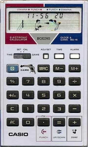 ゲーム電卓ボクシング BG-15   L...