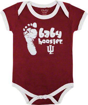 the best attitude e7790 ad38e Indiana Hoosiers...nuff said   Baby Stuff I Love   Alabama ...
