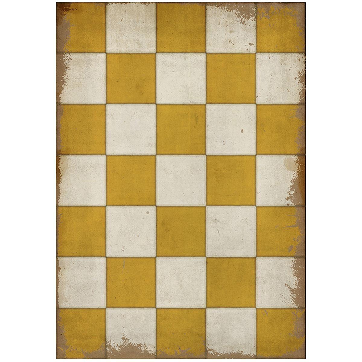 Checkerboard Indoor Outdoor Floorcloth Outdoor Rugs