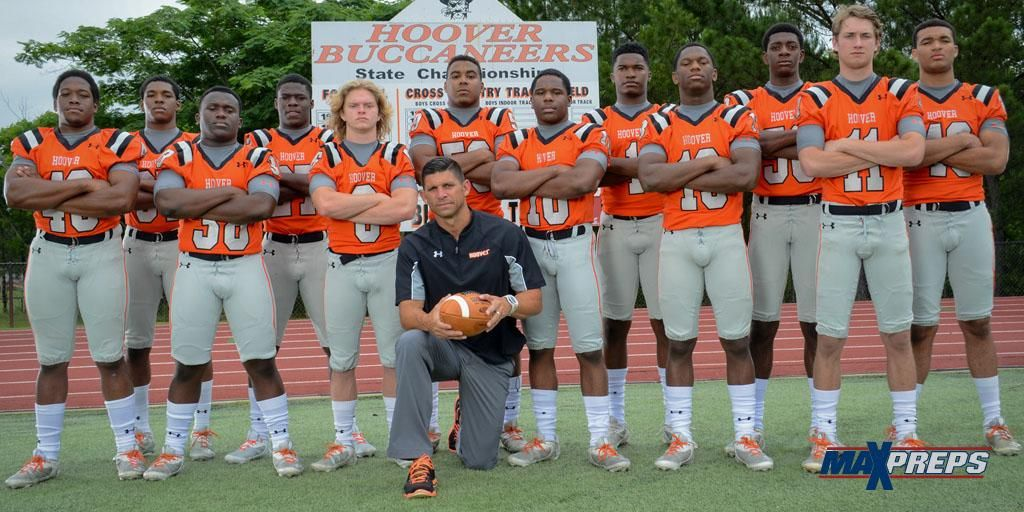 Hoover Bucs are ready for football season! This team has a