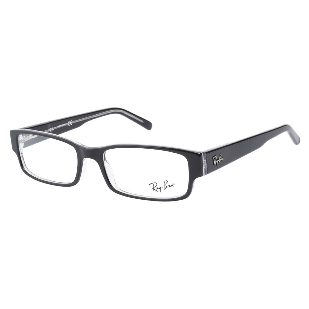 Ray-Ban RB5069 2034 Top Back Transparent Eyeglass Frames | Overstock ...