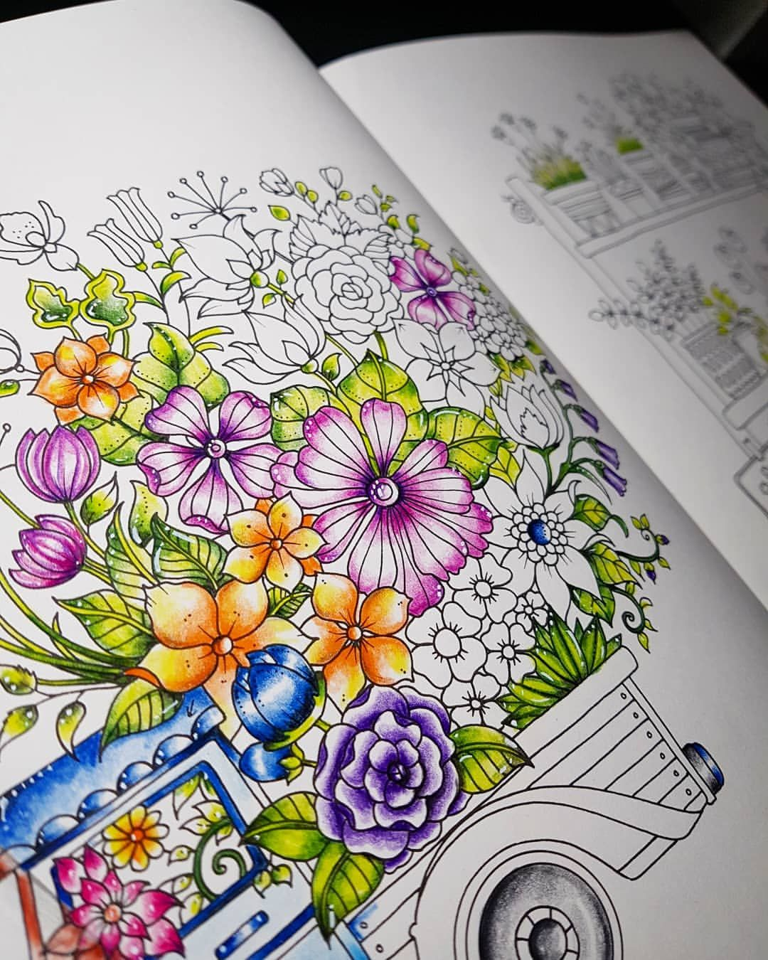 Worldofflowers Wip Coloriage Livredecoloriage Dessinatrice