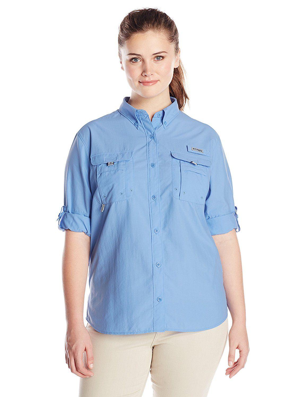 7113dde51f0 Womens Plus Size Long Sleeve Chambray Shirt
