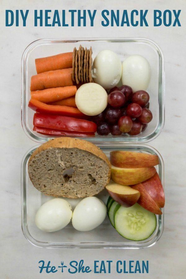 Healthy & easy diy snack box for those busy days when you st images