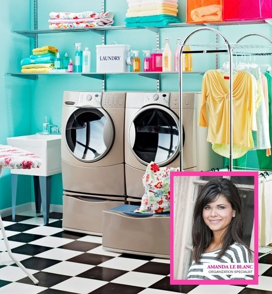 I wouldn't mind doing laundry here!