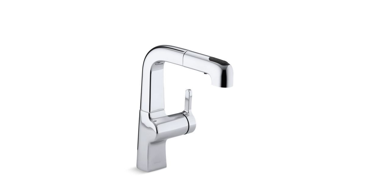 With a striking contemporary design, the K-6332 faucet features a ...
