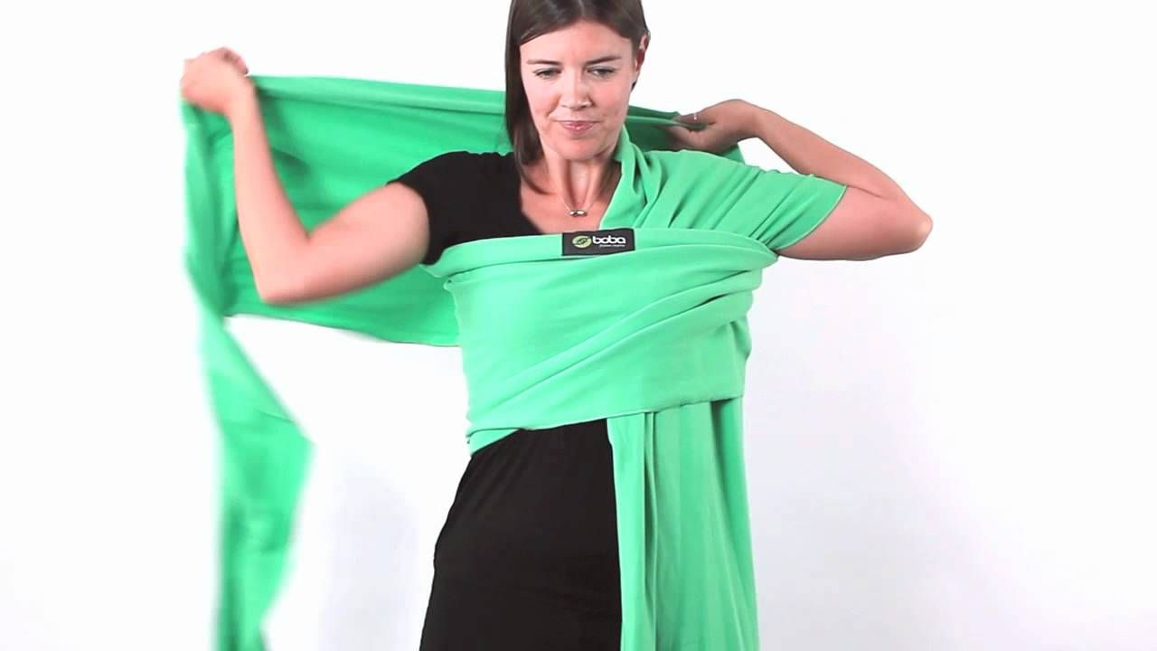 How To Tie Your Boba Baby Wrap Noah Pinterest Baby Wraps Baby