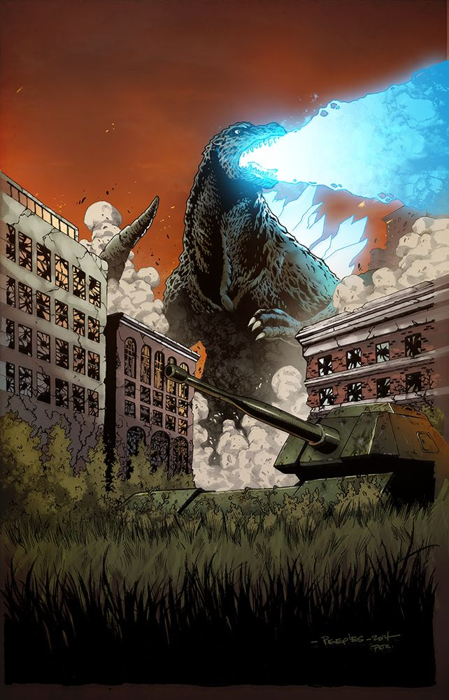 Godzilla - Brent Peeples