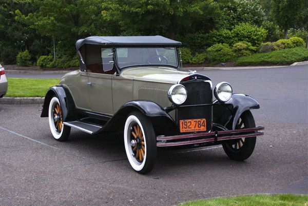 1920's cars | 1928 Plymouth Model Q Roadster | Old Cars and