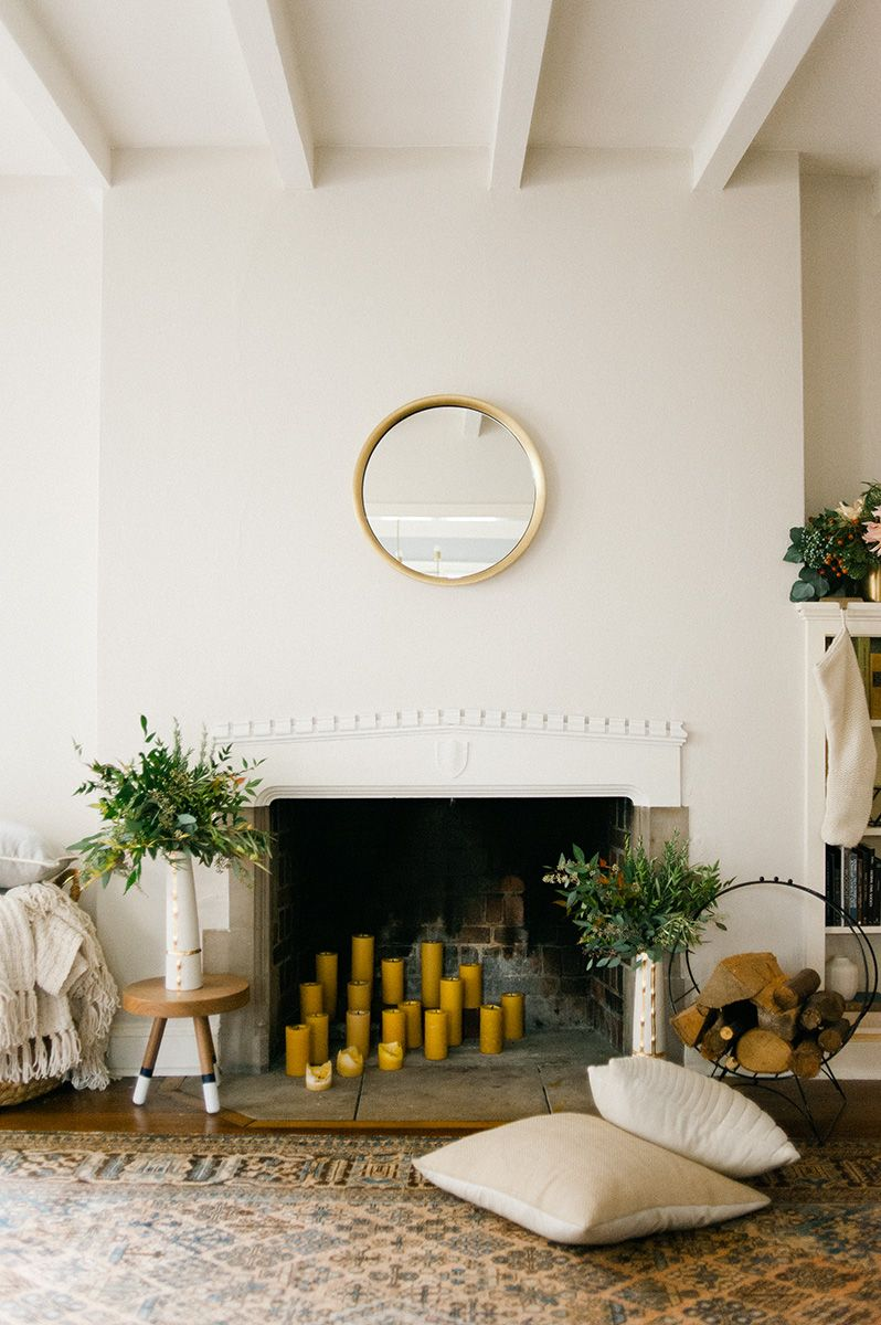 Home Decor Idea Using Greenery In This Christmas | Living rooms ...
