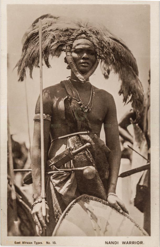 Image result for Nandi tribes man