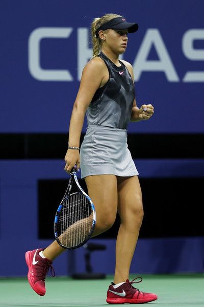 Sofia Kenin Photos Photos 2017 Us Open Tennis Championships Day 5 Tennis Players Female Tennis Championships Billie Jean King