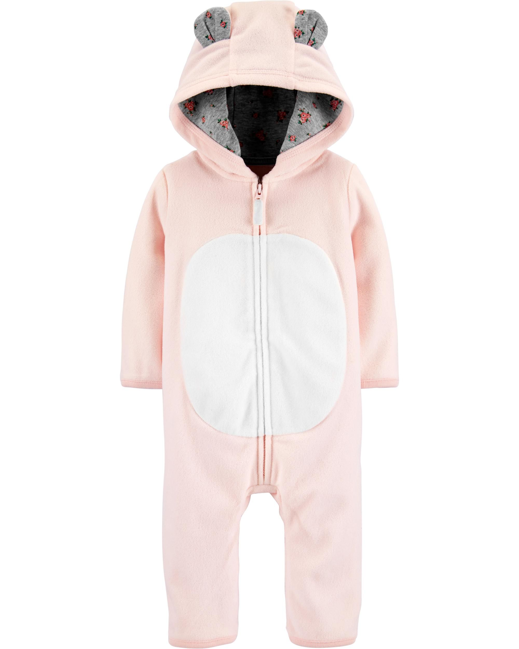 Carter/'s Fleece Hooded Bear Costume Pajama Sleeper