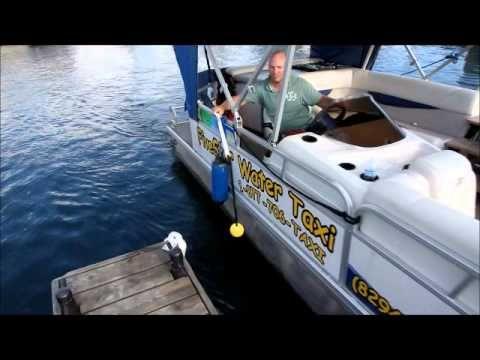 Cool Tool 4 Docking A Pontoon Boat Dock Wand Demo Boating