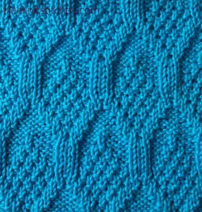 Candle Knitting Stitches Knit And Purl Knit And Purl Stitch