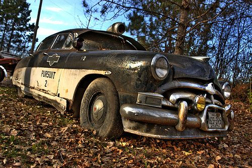 Old Hudson Police Cruiser Hot Sam S Antiques Explored With