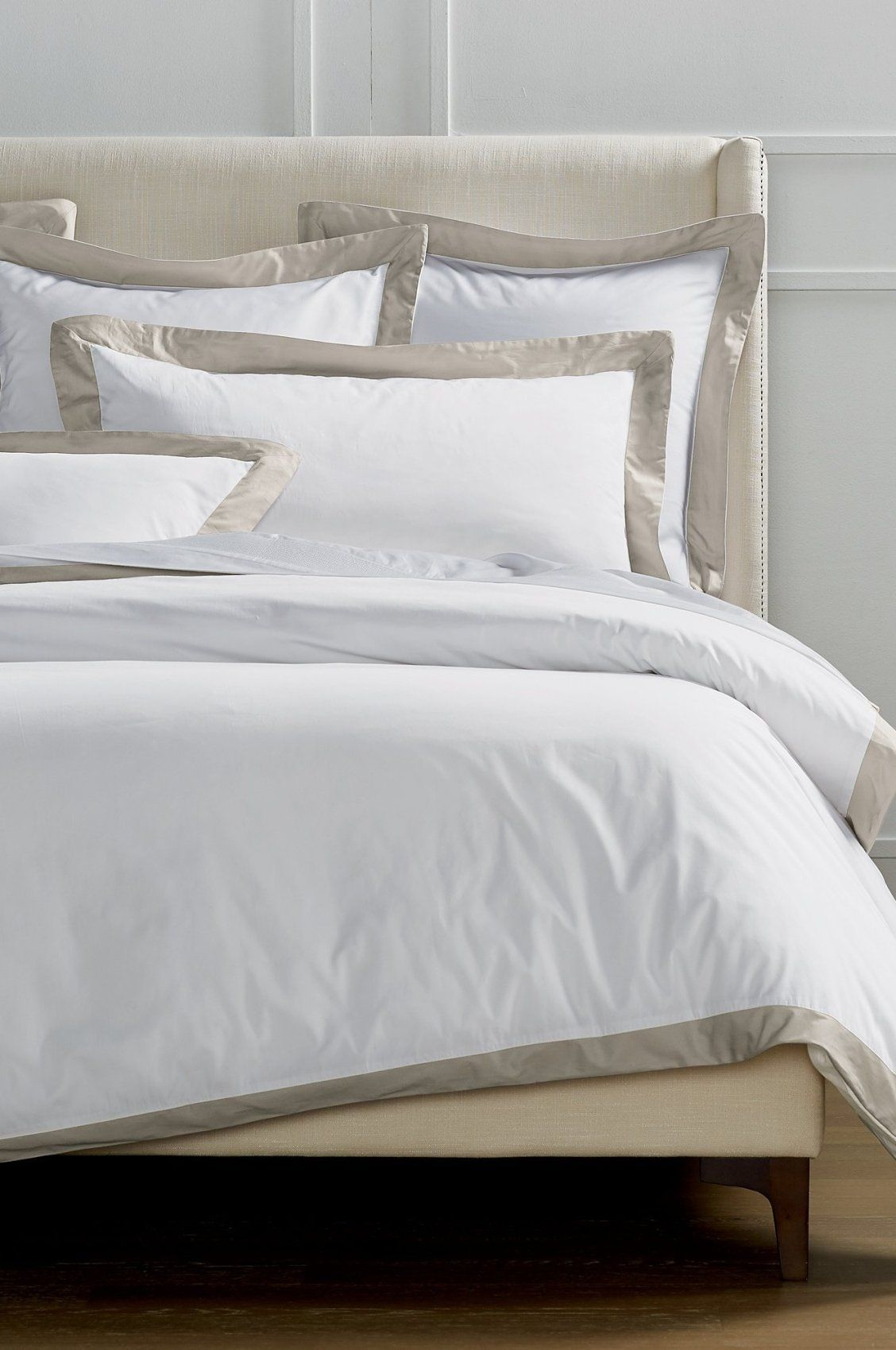 Resort Border Frame Bedding Collection Bed, Bedding