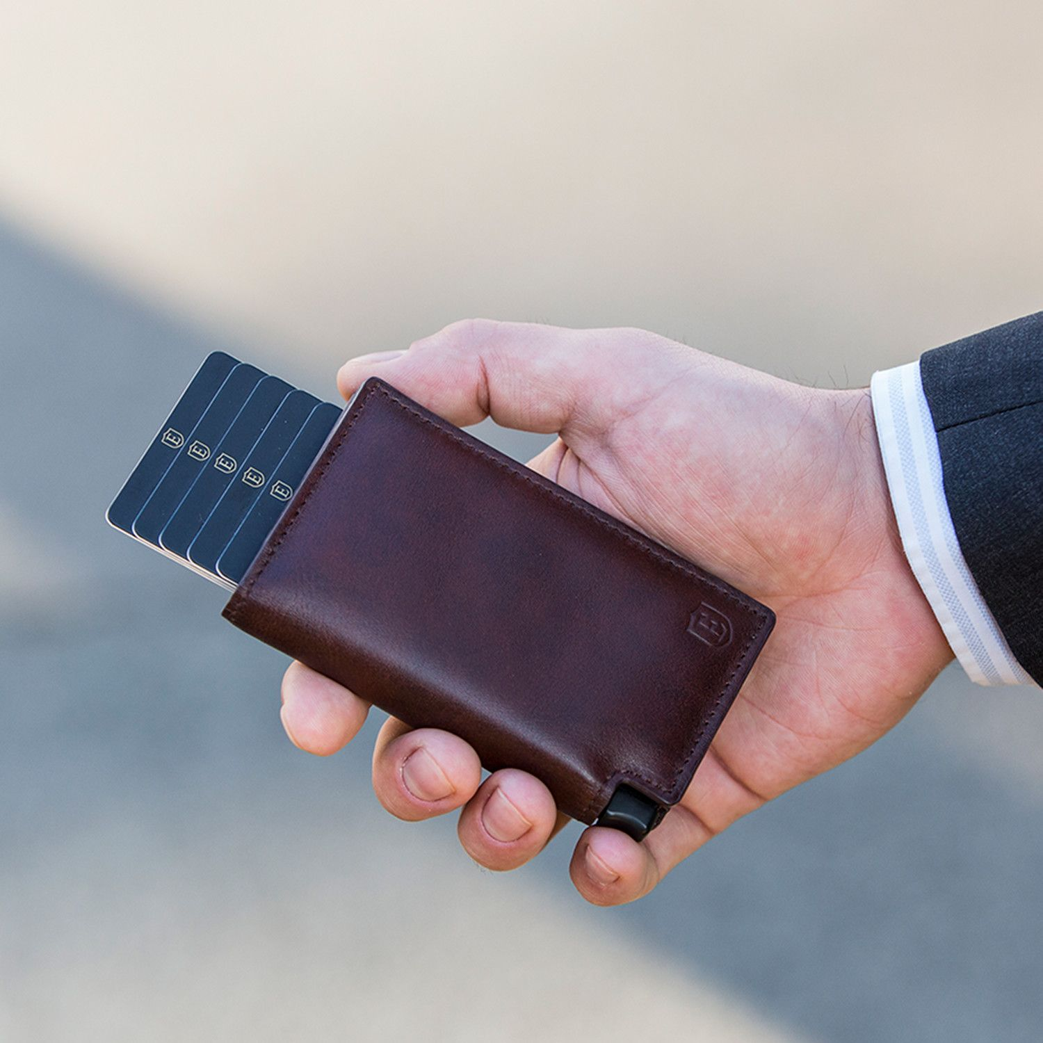Parliament Wallet // Classic Brown Smart wallet