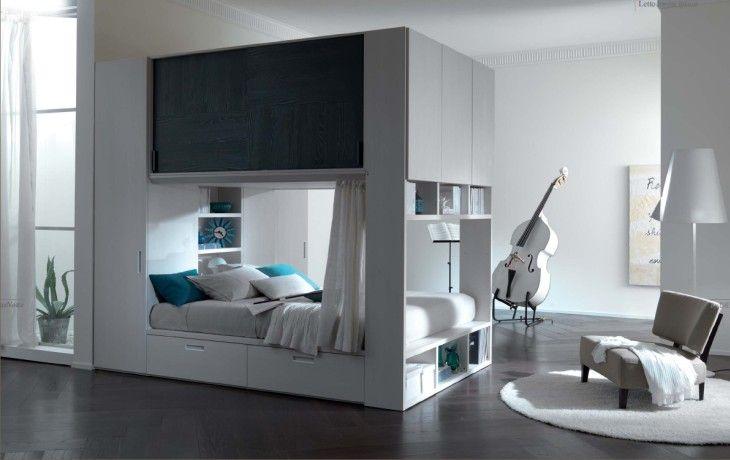 Cabina Armadio Dietro Letto : Cabina armadio angolare dietro letto cerca con google idee