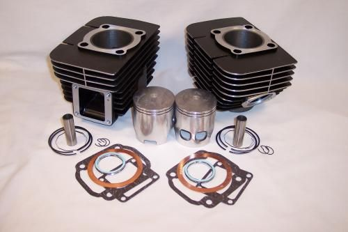 RD350 CYLINDER KIT WITH GASKETS AND PISTONS Yamaha DS7