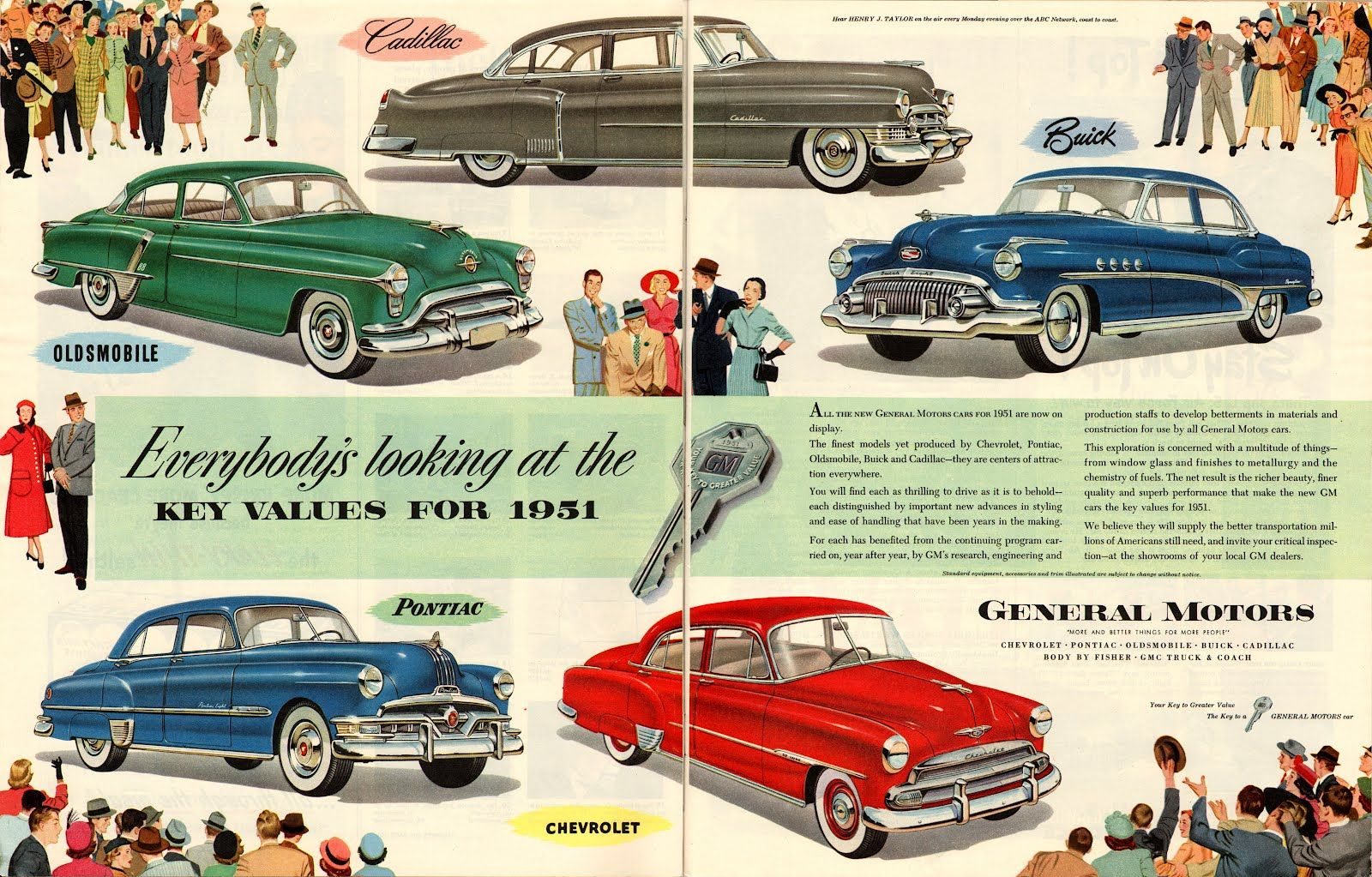 Love these vintage automobile ads! #oldcars #olddays #1950s #cars ...