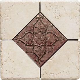 Del Conca Rialto White Thru Body Porcelain Bullnose Tile Common 6 In X Actual